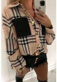 IVET - Koszula damska PALMINA. Kolor: wielokolorowy. Wzór: kratka