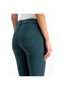 Zielone jeansy slim Marella Sport sportowe