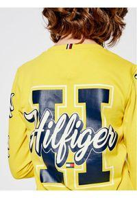 Żółty t-shirt TOMMY HILFIGER #8