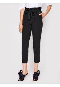 Czarne spodnie materiałowe Rinascimento