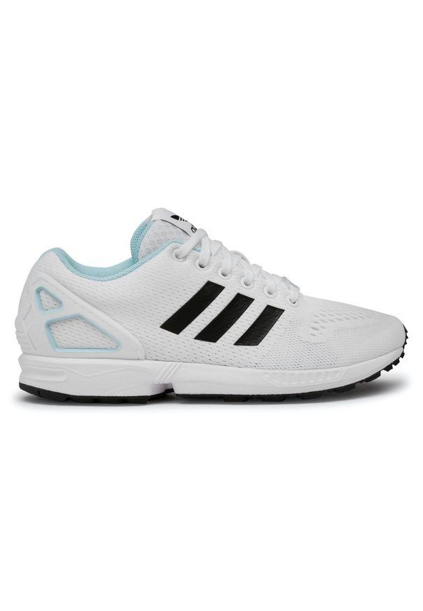 Białe buty sportowe Adidas z cholewką, Adidas ZX