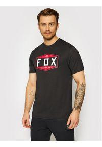 Fox Racing T-Shirt Emblem 26972 Czarny Regular Fit. Kolor: czarny
