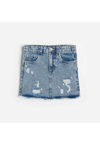 Niebieska spódniczka Reserved