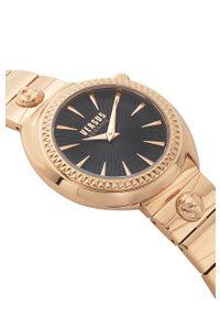 Różowy zegarek Versus Versace