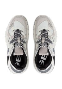 Geox Sneakersy T01 A T94BTA 01422 C0404 Biały. Kolor: biały