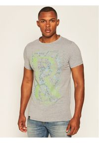Rage Age T-Shirt Mess Szary Skinny Fit. Kolor: szary