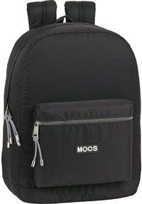 Czarny plecak na laptopa