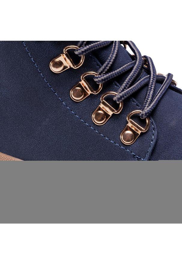 Niebieskie buty trekkingowe Jenny Fairy z cholewką