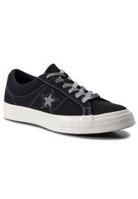 Converse - Tenisówki CONVERSE - One Star Ox 564151C Black/Cool Grey/Egret. Kolor: czarny. Materiał: materiał. Szerokość cholewki: normalna