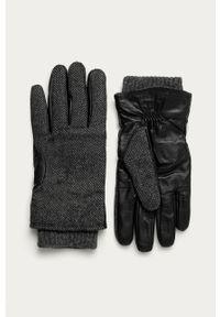 Szare rękawiczki Pepe Jeans