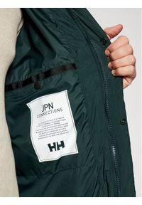 Zielona kurtka puchowa Helly Hansen
