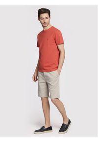 Pomarańczowy t-shirt Vistula