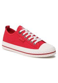 Big-Star - BIG STAR Trampki HH274189 Czerwony. Kolor: czerwony