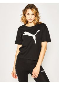 Czarna koszulka sportowa Puma