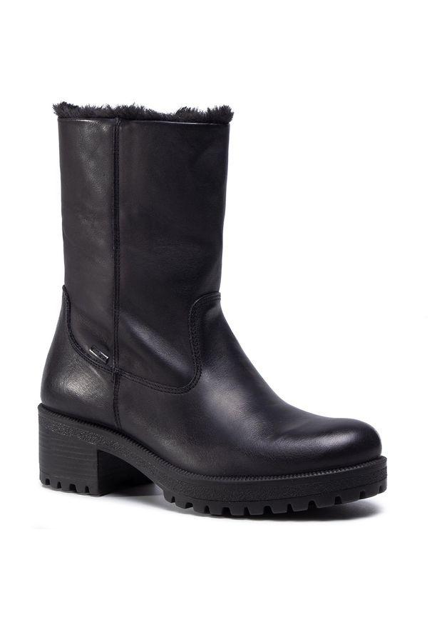 Czarne buty trekkingowe Imac z cholewką