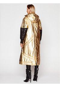 Złota kurtka puchowa Just Cavalli