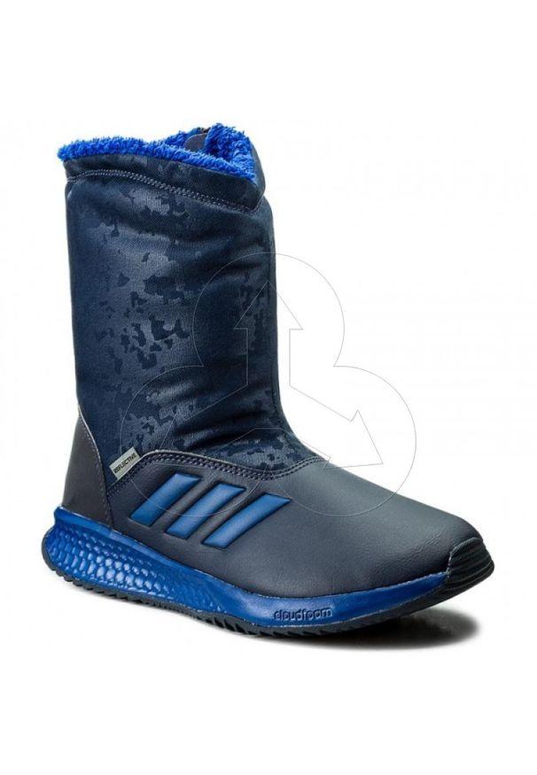 Buty trekkingowe Adidas wąskie, z cholewką, ClimaWarm (Adidas)