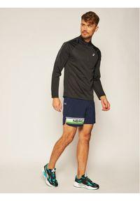 Niebieskie spodenki sportowe New Balance do biegania
