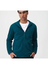 Sinsay - Bluza polarowa - Turkusowy. Kolor: turkusowy. Materiał: polar
