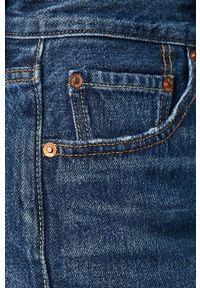 Niebieskie szorty Levi's® z podwyższonym stanem, na co dzień, casualowe