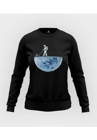 MegaKoszulki - Bluza damska taliowana Astronaut