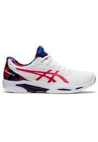 Buty tenisowe na każdą nawierzchnię Asics GEL SOLUTION SPEED FF. Materiał: kauczuk. Sport: tenis