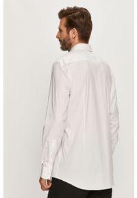 Biała koszula Hugo elegancka, z długim rękawem, na co dzień, z klasycznym kołnierzykiem