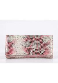 Różowy portfel Monnari