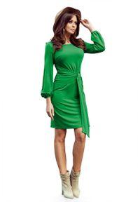 Zielona sukienka wizytowa Numoco