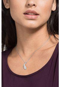 Srebrny naszyjnik Swarovski z kryształem
