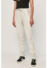 Szare spodnie dresowe adidas Performance melanż