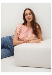 mango - Mango Bluzka Lollipop 87027880 Różowy Regular Fit. Kolor: różowy