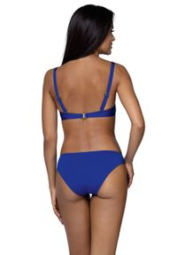 Niebieski strój kąpielowy dwuczęściowy Lorin