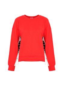 Juicy Couture Bluza. Materiał: tkanina. Długość: krótkie. Wzór: nadruk
