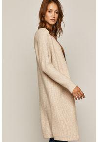 Sweter rozpinany medicine na co dzień, casualowy, raglanowy rękaw