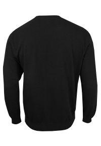 Czarny sweter Stedman bez kaptura, klasyczny
