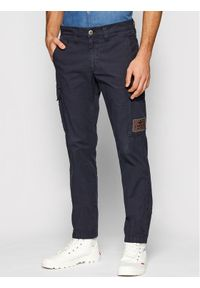 Aeronautica Militare Spodnie materiałowe 211PA1437CT2847 Granatowy Regular Fit. Kolor: niebieski. Materiał: materiał