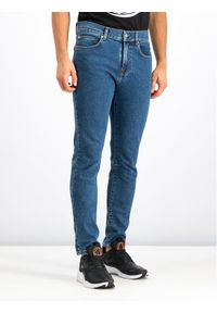 Niebieskie jeansy MCQ Alexander McQueen
