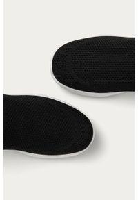 Czarne buty sportowe Answear Lab z cholewką, na średnim obcasie, na obcasie