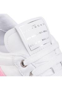 Białe buty sportowe John Richmond