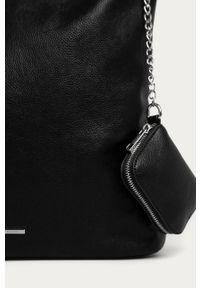 Czarna shopperka medicine duża, na ramię #5