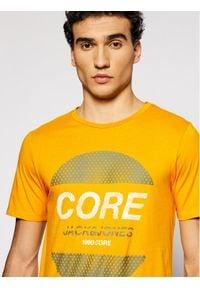 Jack & Jones - Jack&Jones T-Shirt Booster 12191087 Żółty Slim Fit. Kolor: żółty