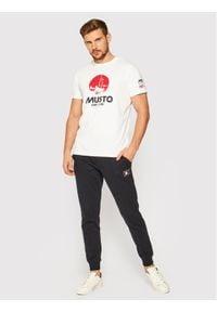 Musto T-Shirt Tokyo 81183 Biały Regular Fit. Kolor: biały #4