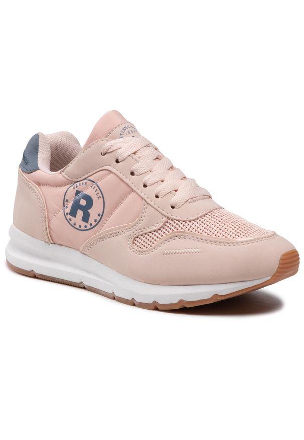 Refresh - Sneakersy REFRESH - 72894 Nude. Okazja: na co dzień, na spacer. Kolor: różowy. Materiał: skóra ekologiczna, materiał. Szerokość cholewki: normalna. Sezon: lato. Styl: casual