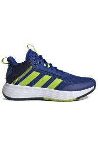 Adidas - adidas Ownthegame 2.0 > H01557. Zapięcie: sznurówki. Szerokość cholewki: normalna. Sport: turystyka piesza, koszykówka