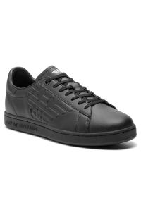Czarne sneakersy EA7 Emporio Armani