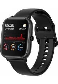 Smartwatch Colmi P8 SE Czarny (P8 SE Black). Rodzaj zegarka: smartwatch. Kolor: czarny