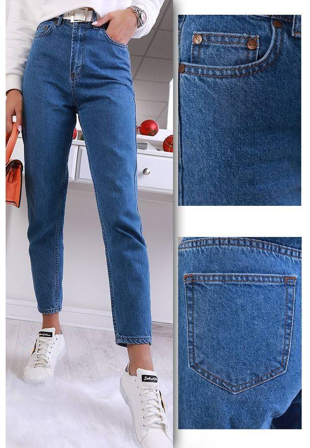 Niebieskie jeansy IVET na co dzień, sportowe