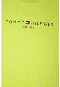 T-shirt TOMMY HILFIGER na co dzień, z nadrukiem