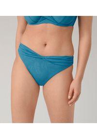 Niebieskie dół bikini Triumph